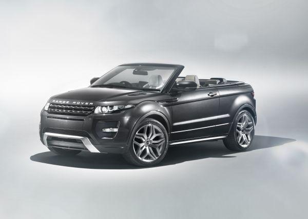 Range Rover Evoque Cabrio Concept yüzünü gösterdi