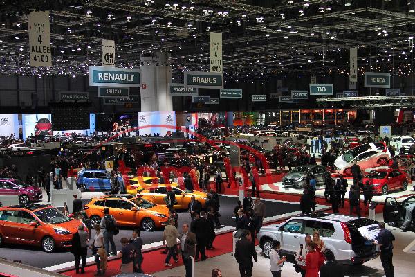 Galeri: Cenevre Otomobil Fuarı 2012 yeni modeller