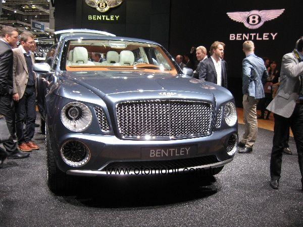 Galeri: Bentley EXP 9 F Cenevre Otomobil Fuarı 2012