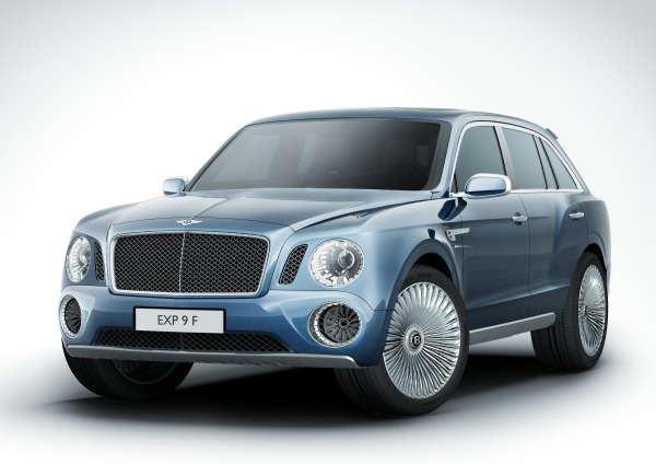 Bentley SUV: EXP 9 F