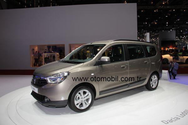 Video: Dacia Lodgy Cenevre Otomobil Fuarı 2012