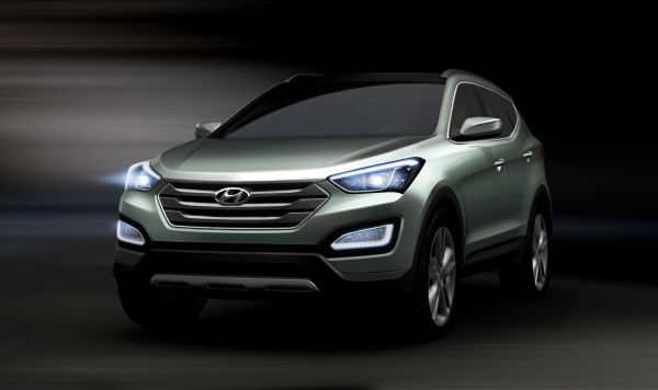 İşte yeni Hyundai Santa Fe 2013