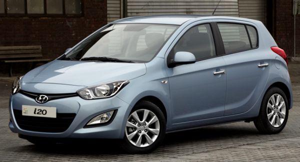 İşte makyajlı Hyundai i20 2012