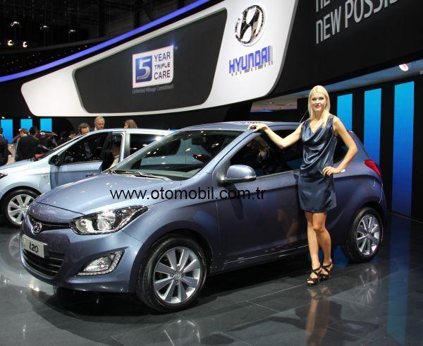 Yenilenen Hyundai i20 Cenevre 2012'de tanıtıldı