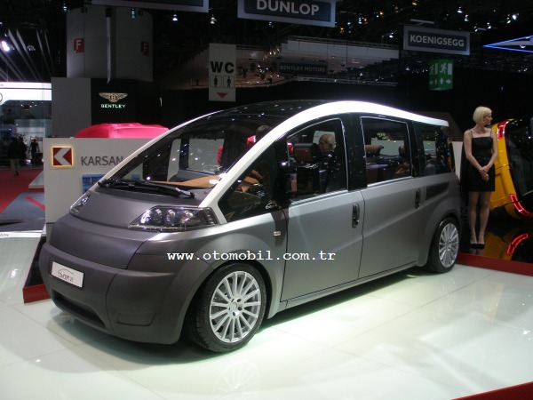Karsan Concept V1, 2012 Cenevre Otomobil Fuarı'nda
