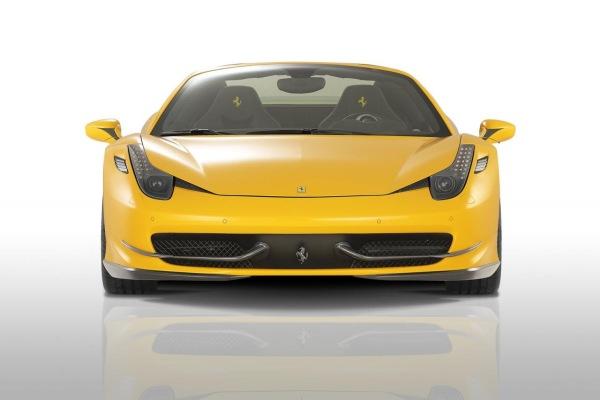 Ferrari 458 Spider'a Novitec Rosso modifikasyonu