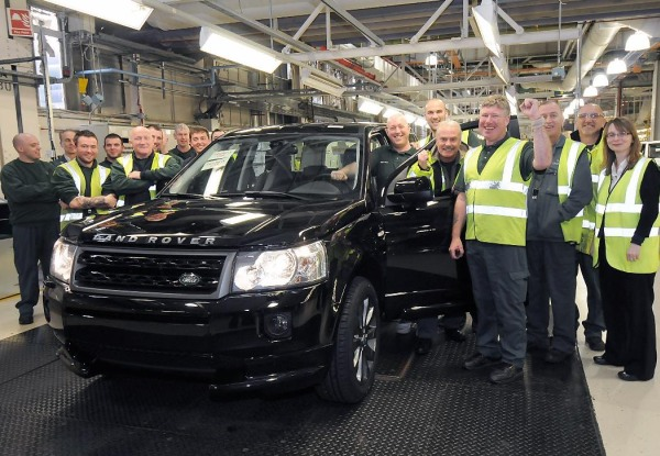 Land Rover Freelander 2 üretimi 300 bin adet oldu