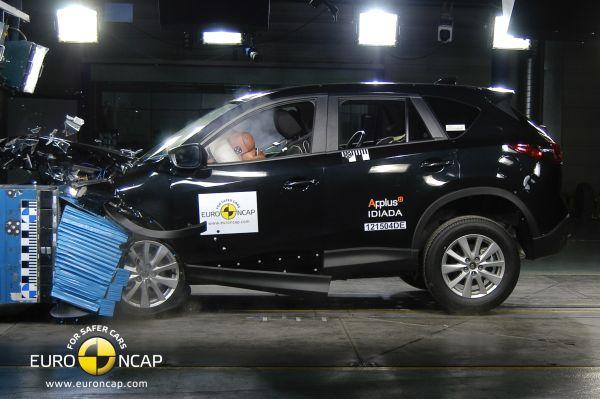 Mazda CX-5 Euro NCAP'ten 5 yıldızla ayrıldı