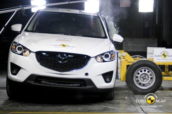Video: Mazda CX-5 Euro NCAP çarpışma testi