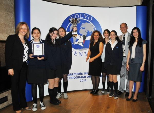 Volvo Adventure 2012 Türkiye finalisti Çevre Koleji