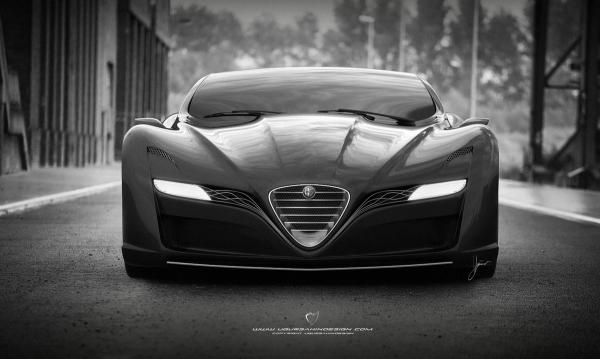 Galeri: Uğur Şahin Alfa Romeo 12C GTS Concept