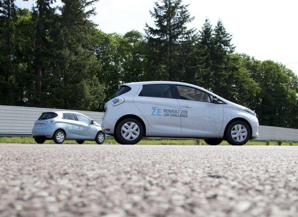 Renault Zoe 24 saatte 1618 km rekor yol kat etti