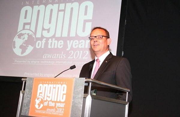 Ampera/Volt'a 2012 Yılı'nın Yeşil Motor Ödülü