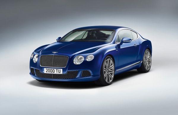 Yeni Bentley Continental GT Speed Coupe yüzünü gösterdi