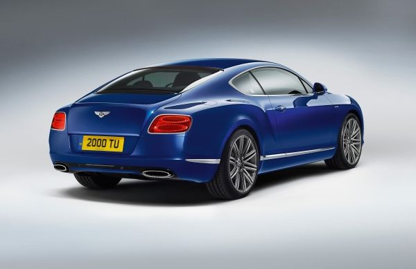 Galeri: Yeni Bentley Continental GT Speed Coupe 2013
