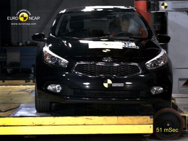 Video: Yeni Kia cee'd Euro NCAP çarpışma testi
