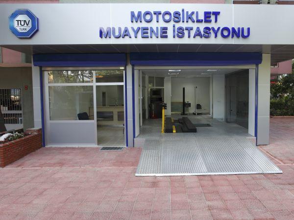 Tüvturk'ten Maslak ve Kızıltoprak'a motosiklet muayene istasyonları