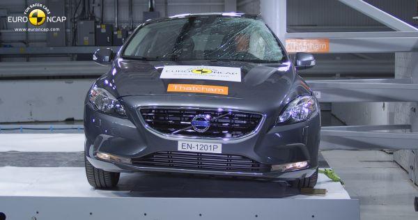 Video: Volvo V40 Euro NCAP çarpışma testi