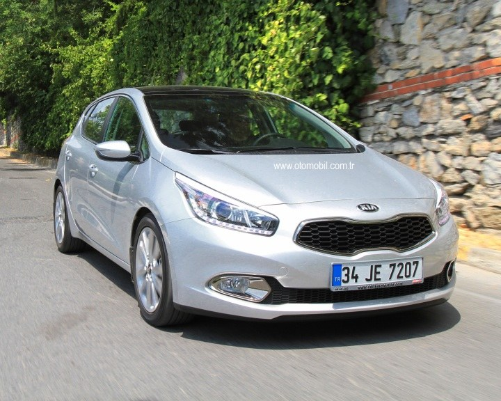 Video test: Yeni Kia Cee'd 1.6 CRDi Otomatik
