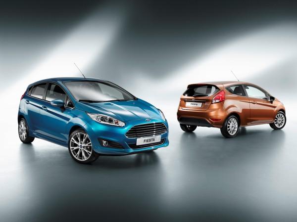 2013 Ford Fiesta'ya yeni yüz