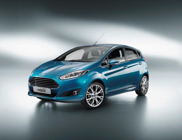 Galeri: Makyajlı (2013) Ford Fiesta