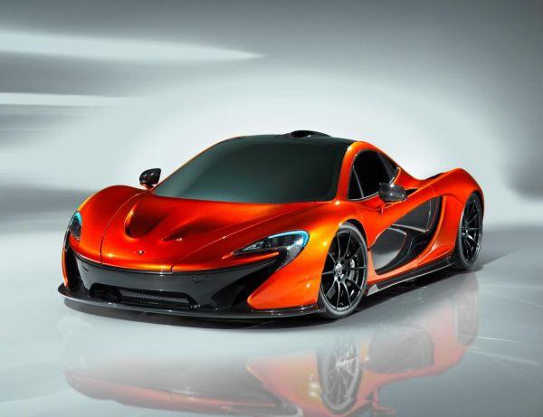McLaren P1 Paris Otomobil Fuarı 2012'de sergilenecek