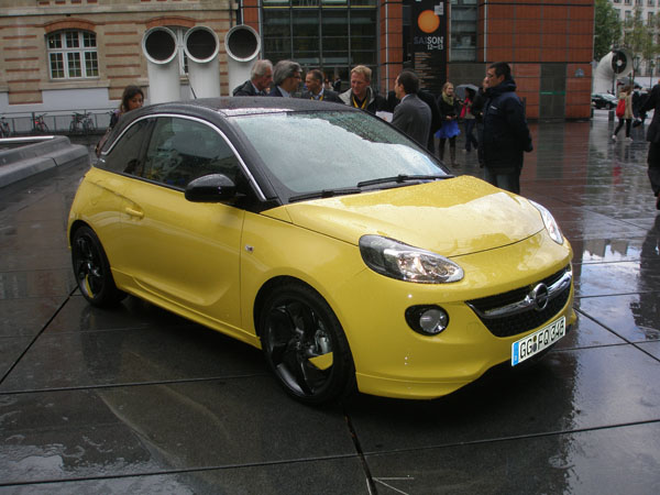 Galeri: Opel Adam Paris'te