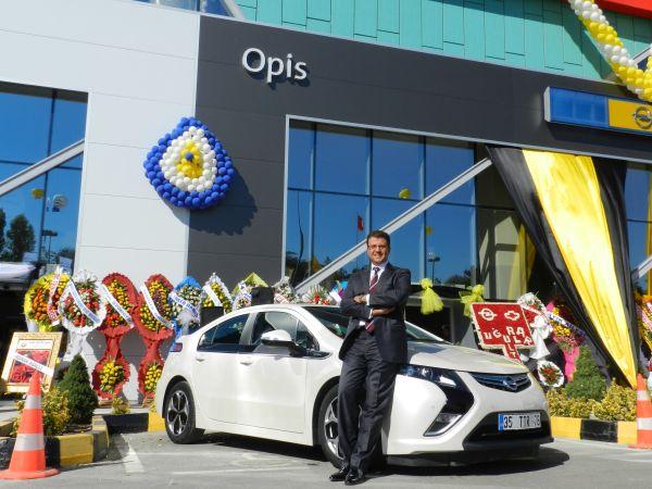 Opel Opis Ankara Batıpark'ta açıldı