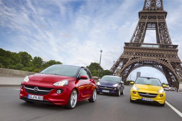 Opel Adam 2013'te Türkiye'de satışta
