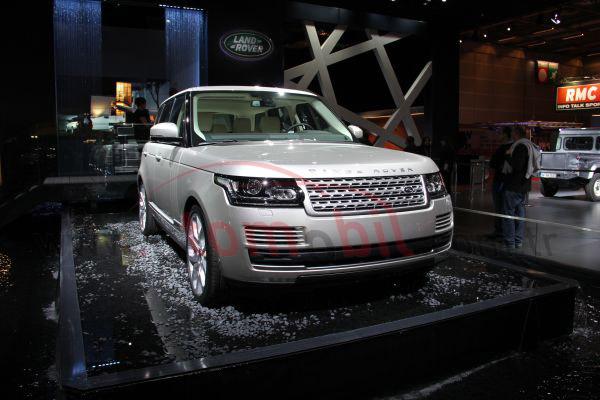 Galeri: Yeni 2013 Range Rover Paris Otomobil Fuarı
