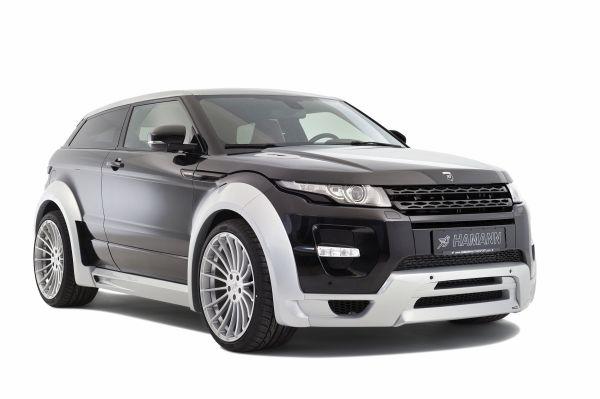 Range Rover Evoque'a Hamann yorumu