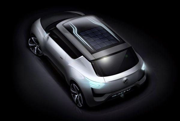SsangYong e-XIV Concept Paris'te tanıtılacak