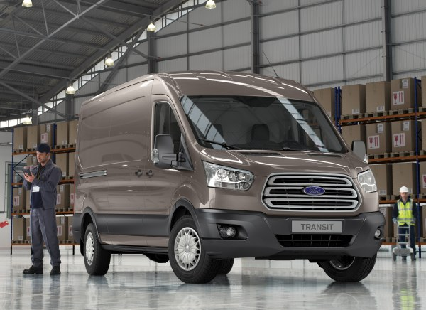 Yeni (2013) Ford Transit hazır