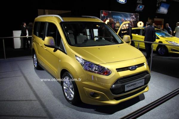 Video: Yeni 2013 Ford Tourneo Connect - Paris Otomobil Fuarı