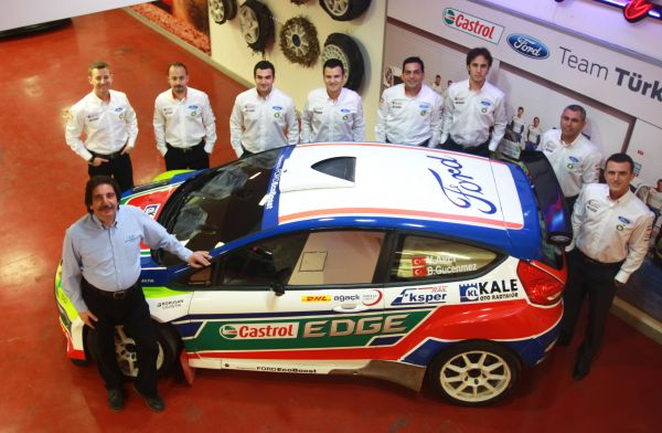 Castrol Ford Team Türkiye 2012 Türkiye Ralli Takımlar Şampiyonu oldu