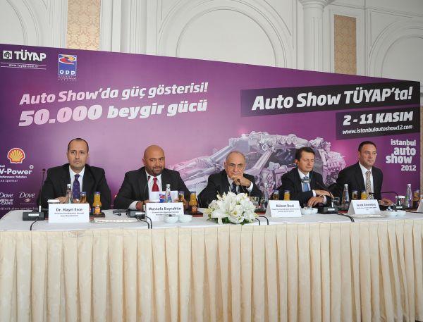 İstanbul Autoshow 2012 2 Kasım'da Tüyap'ta