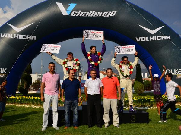 V1 Challenge Aydın yarışında Yağız Avcı birinci oldu