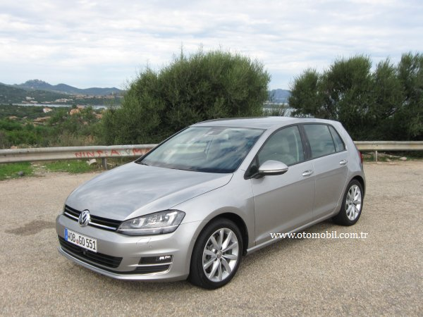 lk s r test yeni 2013 vw golf 7 1 4 tsi 140 hp act dsg otomobil. Black Bedroom Furniture Sets. Home Design Ideas