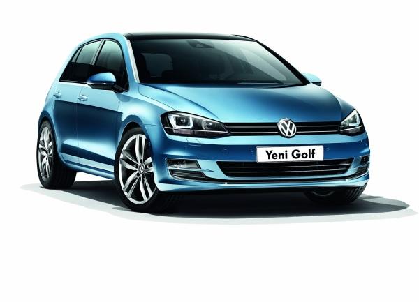 Yeni VW Golf 7 (2013) fiyat listesi