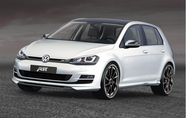 Yeni VW Golf'e ABT modifiyesi