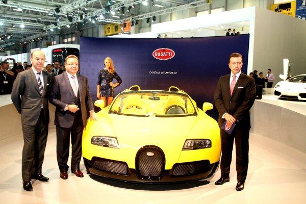 4.3 milyon Euro'luk Bugatti Veyron İstanbul Autoshow 2012'de