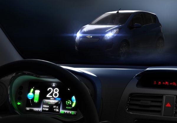 Elektrikli Chevrolet Spark EV Los Angeles Autoshow'da tanıtılacak
