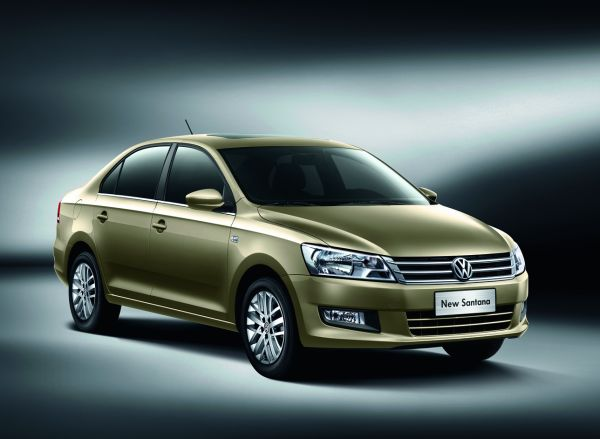 Çin'e özel yeni 2013 Volkswagen Santana
