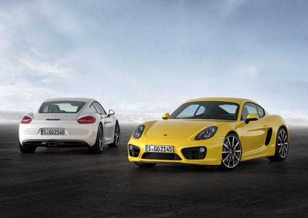 Yeni (2013) Porsche Cayman tanıtıldı