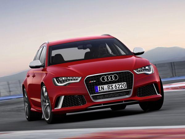 Yeni Audi RS 6 Avant 2013 yüzünü gösterdi