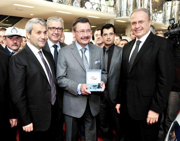 Ankara Büyükşehir Belediyesi Renault Fluence Z.E. filosunu teslim aldı