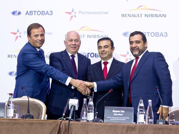 Renault-Nissan ile Lada işbirliği büyüdü