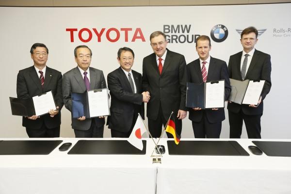 BMW-Toyota işbirliği anlaşması imzalandı