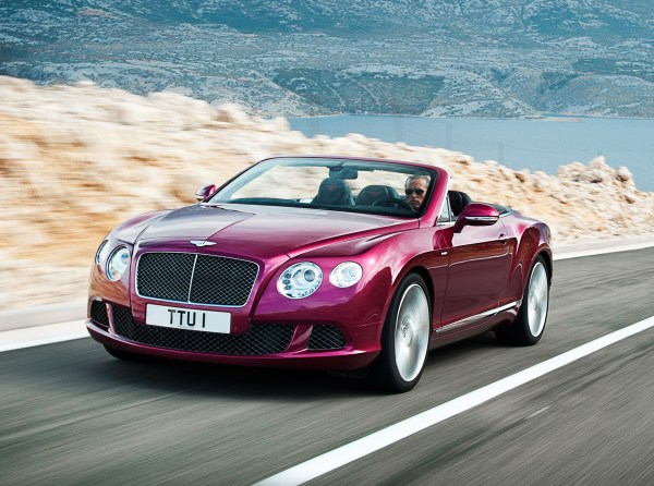 En hızlı 4 kişilik cabrio: Bentley Continental GT Speed Convertible