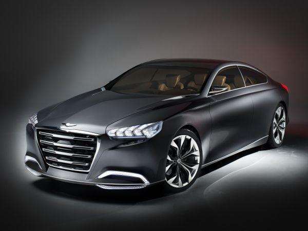 Hyundai HCD-14 Genesis konsepti Detroit'te tanıtıldı
